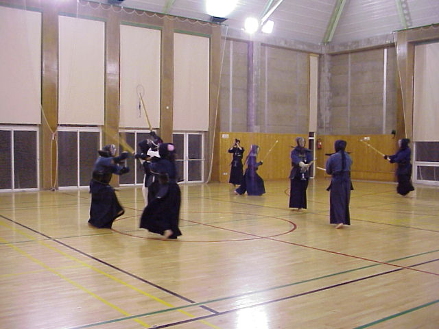 Kenwakai kendo club madrid for Gimnasio moscardo